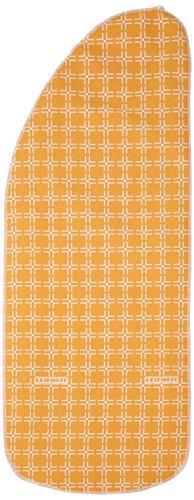 Leifheit - Bügeltischbezug Dressfix, 140x40cm, Schnurzug, gelb/orange
