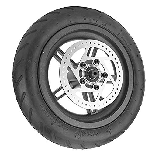 Electric Scooter Tire For Xiaomi - MAGT Rear Wheel Tire Disc Brake Tyre 9.8 Inch Rear Tire Wheel Replacement Compatible with Xiaomi Mijia M365 Electric Scooter