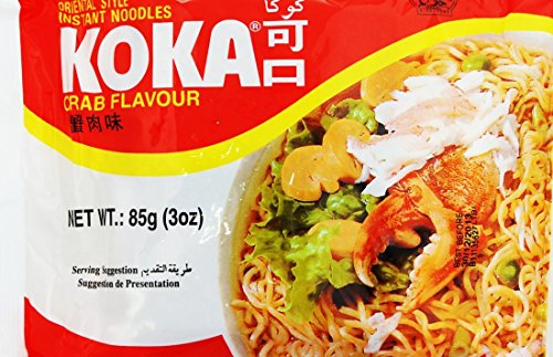 Koka Krabben Geschmack Nudeln 30/85g
