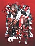 """Michael Jordan 2022 Calendar: SPORT Calendar 2022-2023 – 18 months – BIG SIZE 17""""x11"""". Planner for all fans kids boys - MIchael Jordan Calendar 2022 - Basketball Calendar 2022"""
