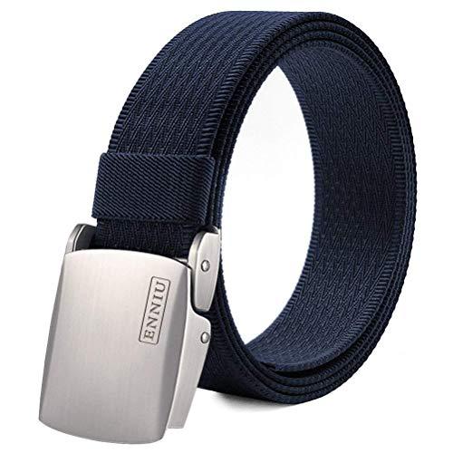 """Fairwin Cintura Tattica in Tela in Stile Militare da Uomo, 1.5"""" Tessuto in Nylon Cintura con Fibbia in Confezione Regalo"""
