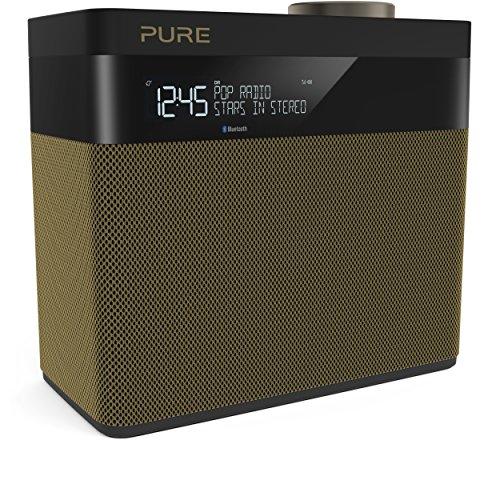Pure Pop Maxi S - Radio estéreo portátil (Dab/Dab+, Bluetooth, Pantalla LCD)