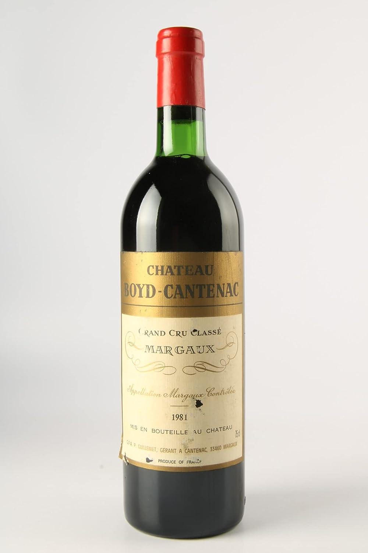 CHÂTEAU BOYD CANTENAC 1981-3ème Cru Classé - (Etiqueta dañada)