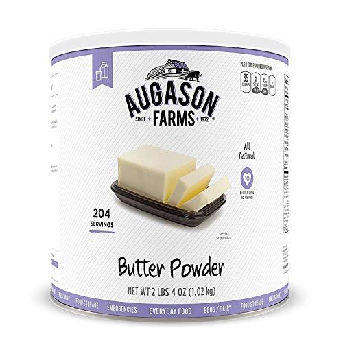 Augason Farms Butter Powder 2 lbs 4 oz No. 10 Can