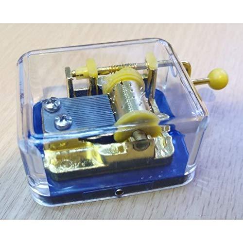 Miniatures World - Caja de música con manivela (internacional)