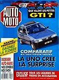 AUTO MOTO [No 88] du 01/12/1989 - QUE VALENT LES PETITES GTI -COMPARATIF / LA UNO CREE LA SURPRISE -TOUS LES LIQUIDES DE FREINS EN...