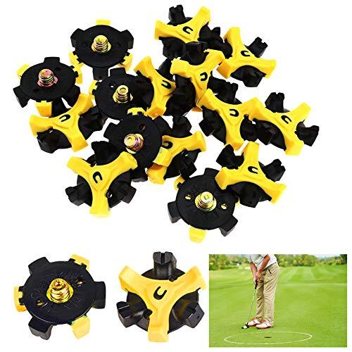 REYOK 20 Pcs Crampons Doux pour Chaussures de Golf Footjoy Golf Spike Crampons de Spikes Joy Adapter à Pied Footjoy