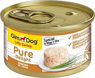 جيمبورن جيم دوغ طعام مميز للكلاب غني بالبروتينات مع الدجاج في الجيلي ، 85 غم