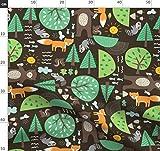 Bär, Waschbär, Eichhörnchen, Baum, Fisch, Berg, Blatt
