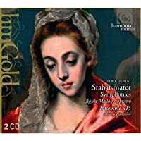Boccherini: Stabat Mater, Symphonies by Agnes Mellon (2011-07-12)