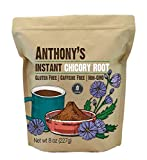 Anthony's Instant Chicory Root, 8 Ounce, Gluten Free, Caffeine Free, Non GMO, Coffee Alternative
