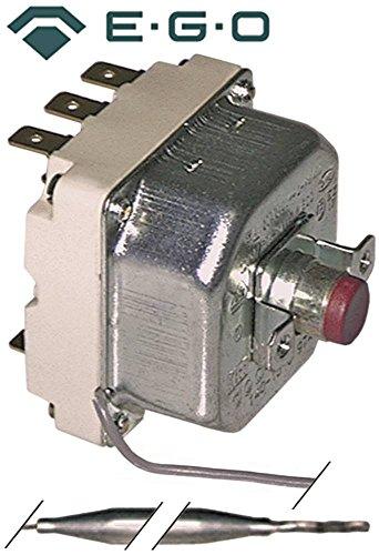 EGO veiligheidsthermostaat 55.31532.060 geschikt voor Electrolux, Juno-Röder-Seking, Zanussi, Therma max. Temperatuur 140°C 3-polig