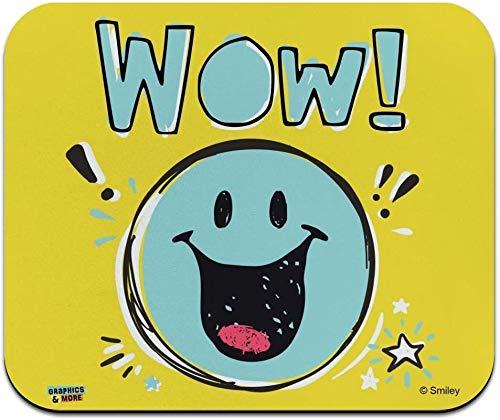 Leckeres Essen Smiley Face Offiziell Lizenziertes Low Profile Thin Mouse Pad Mousepad
