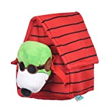 Peanuts for Pets Charlie Brown Pilot Snoopy Burrow Dog Toy | Red and White Burrow Dog Toy for All Dogs, Official Product of Peanuts | Hide and Seek Dog Toys, Snoopy Fabric Plush Toys for Dogs