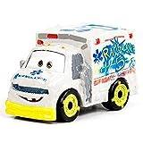 Disney Pixar Cars Metal Mini Racers - Dr. Damage - FMV81 ~ Diecast Toy Vehicle