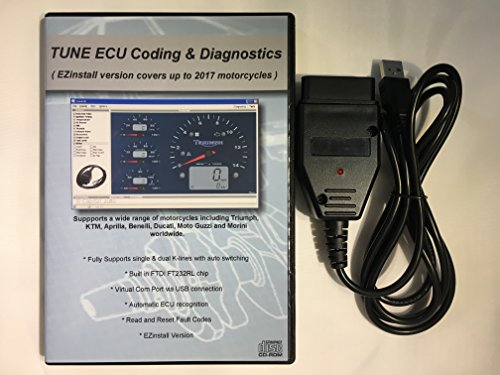 capital_auto USB OBD2 Cable Scanner for Triumph Motorcycles TuneECU Program FT232RL Chip OBD Tune ECU