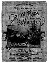 Ben Hur Chariot Race March - Score