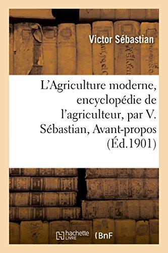 L'Agriculture moderne, encyclopédie de l'agriculteur
