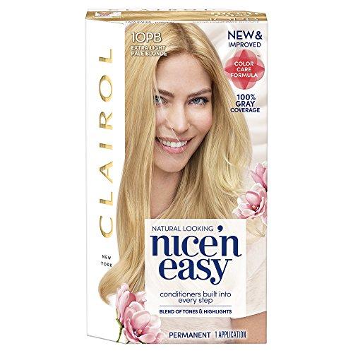 Clairol Nice 'N Easy 10PB Extra Light Pale Blonde 1 Kit 10PB Extra Light Pale Blonde