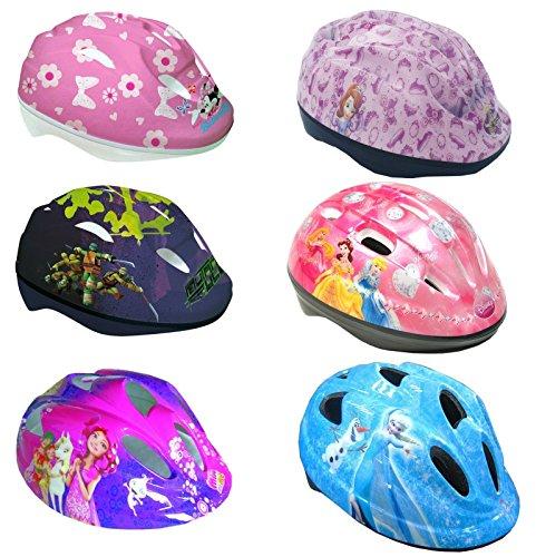 Fahrradhelm 51-55 cm verstellbar Minnie Mouse, Turtles, Mia & Me, Sofia die Erste, Frozen - Die Eiskönigin Kinder Schutzhelm (Frozen - Die Eiskönigin)