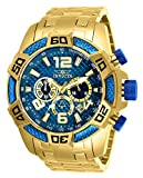 Invicta Men's Pro Diver Scuba 50mm Gold Tone Stainless Steel Chronograph Quartz Watch, Gold (Model: 25852)