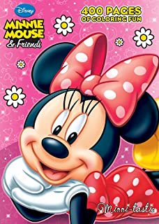 Minnie Mouse & Friends: Minni-tastic: 400 Pages of Coloring Fun
