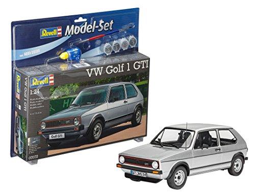 Revell - Maqueta Modelo Set VW Golf 1 GTI, Escala 1:24 (67072)