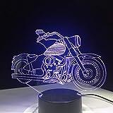 La dernière Moto Cadeau de Ventilateur de Moteur télécommande Illusion Nuit lumière Couleur créatif Alimentation Bureau Table Lampe à Lave