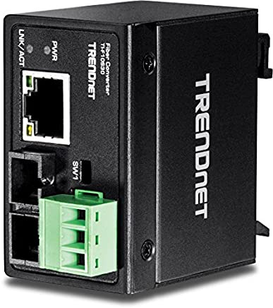 TRENDnet Hardened Industrial 100Base-FX Single-Mode SC Fiber Converter (TI-F10S30) [並行輸入品]
