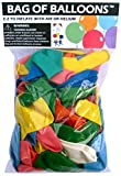 """Value pack contains 72 Assorted Color Latex Balloons! Helium Grade Latex Balloons Use with Air or Helium for that perfect party decoration look Colorful 10"""" Latex Balloons are 100% Biodegradable Great for Birthdays, Graduations, School Events, Office..."""