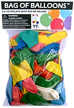 Bag of Balloons - 72 ct Assorted Color Latex Balloons