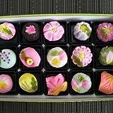 上生菓子(15個入)お年賀・バレンタインデー・ホワイトデー・ひな祭り・母の日・父の日・お中元・残暑見舞・敬老の日・七五三・お歳暮に贈りたい