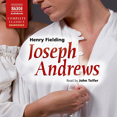 Joseph Andrews audiobook cover art