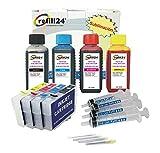 Kit de Recarga Compatible para Cartuchos de Tinta -Serie 29 / 29XL Auto-reseteables para impresoras Expression Home XP + 400 ML Tinta DE SUBLIMACION