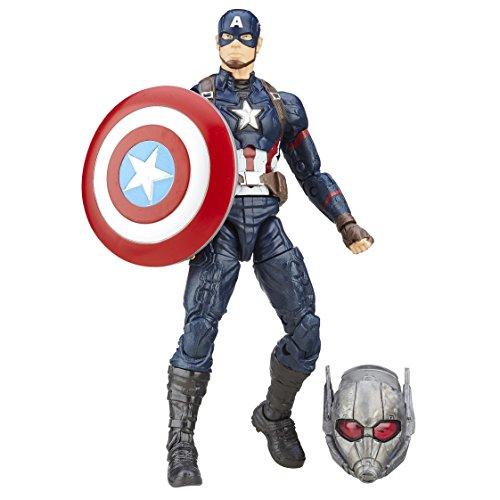 Marvel Figura del Capitan America, Figura de 15,24 cm de la
