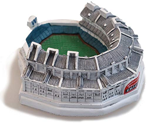 ThirtyFive55 Wrigley Field Minature Ceramic Replica Stadium