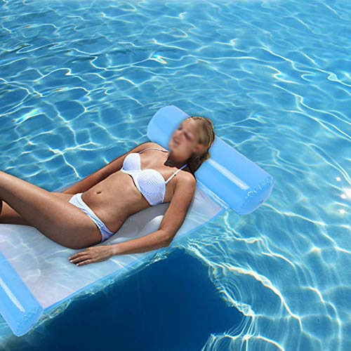 Allsor Fácil de inflar/desinflar, colchonetas flotantes, balsa de Piscina, Juegos de Agua ergonómicos antifugas portátiles Parque acuático Playa para Piscina