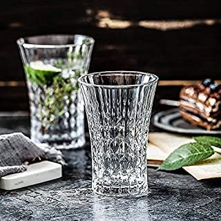 PrimeWorld Glass Water Glass - 6 Pieces, Clear, 280 ml