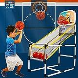 YQZ Juego De Arcade De Baloncesto para Niños Arcade para Interiores O Exteriores, Juego De Arcade De Baloncesto para Deportes Extraíbles