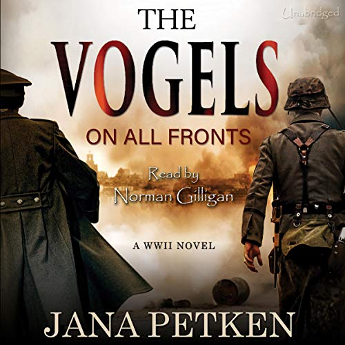 The Vogels: On All Fronts audiobook cover art