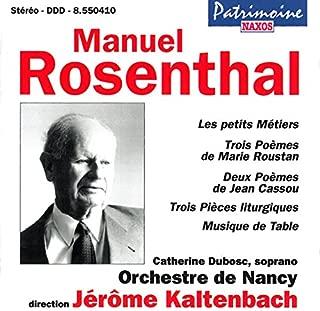 Catherine Dubosc/ Jérôme Kaltenbach Les petits métiers/3 poèmes de Marie Roustan Other Choral Music