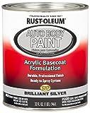 Rust-Oleum 275234 Brilliant Silver...