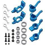 Cuasting Para 102210 102010 102211 102011 102212 102012 aleación de aluminio nudillo Kit Hub Carrier Actualización piezas para RC Redcat EPX HSP Azul