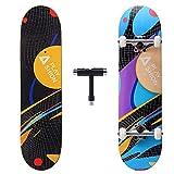 Playshion 78,7 x 20,3 cm komplettes Skateboard für Kinder...