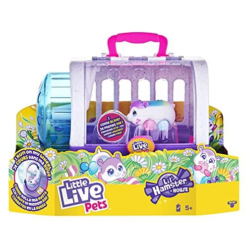 Little Live Pets - Lil' Hamster: Popmello & House Playset |...