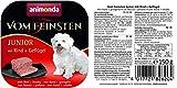Animonda vom Feinsten Junior 82620 Rind+Geflügel 22 x 150 g Schale – Hundefutter - 2