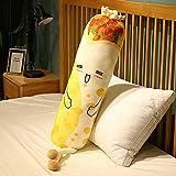 yuelei Neue 100-165 cm Nizza Huggable Long Toast Brot Plüschtier Gefüllte Lebensmittel Toast Kissen Schlafkissen Kreatives Geschenk für Kinder 165 cm 2