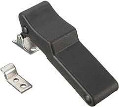 Praktisch Flexibele Deur Teken klink 3,8 inch Vervanging Soft Rubber Zwart Over-Center C7-10 (Color : Black)