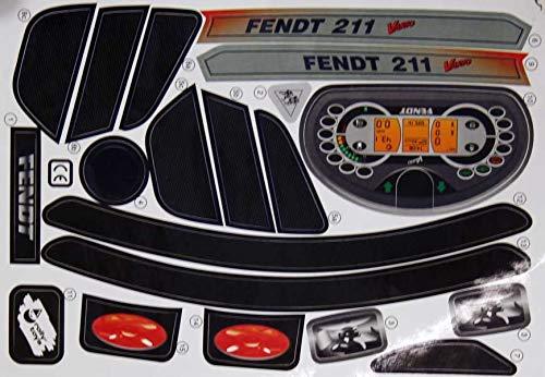 Rolly Toys Aufkleber Fendt 211 Vario