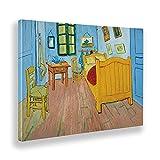 Giallobus - Cuadro - Vincent Van Gogh - La habitación de Vincent en Arles - Lienzo - 140x100 - Listo...